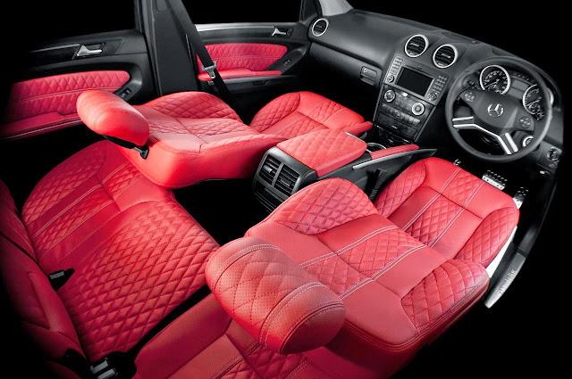 ml350 interior