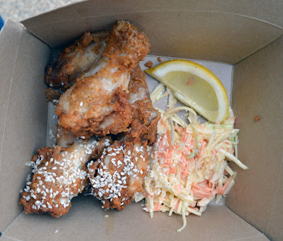 The Hungry Toad crispy fried chicken