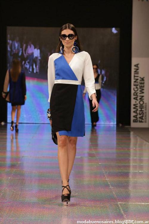 Colección Calandra otoño invierno 2014 vestidos de moda 2014.