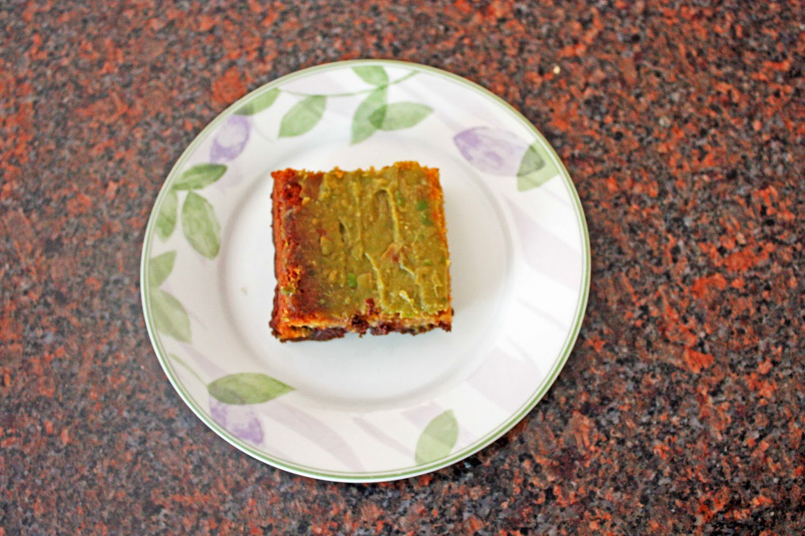healthier gluten free blondie brownie swirl bars with avocado frosting