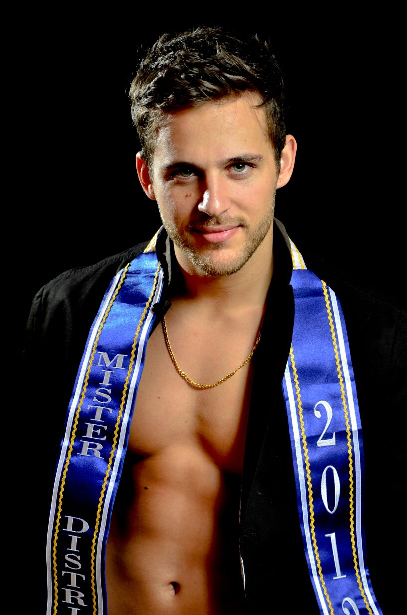 Thiago Ximenes representou o Estado do Distrito Federal no Mister Brasil Mundial Universo 2012