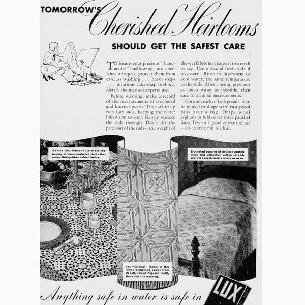 Vintage Lux Detergent Advertisement