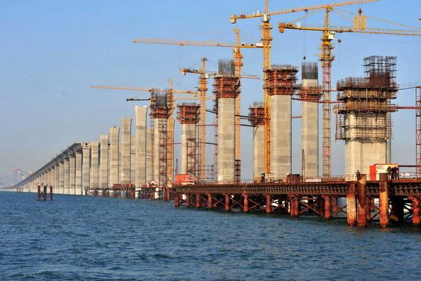 Mega Bridges Jiaozhou Bay Bridge