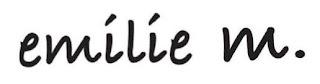 Emilie M logo
