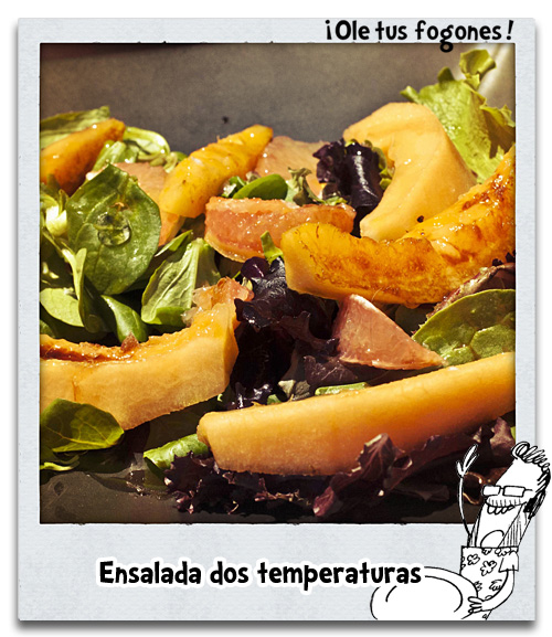 Ensalada a dos temperaturas