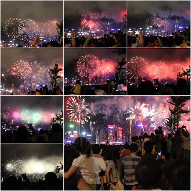 15th anniversary celebration of Hong Kong Handover to China on 1st July 2012 which is also the 1st time to celebrate with fire works in Hong Kong