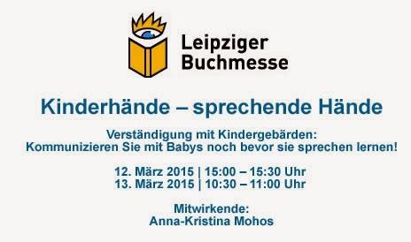 Kindergeb�rden auf der Leipziger Buchmesse