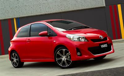 2012 Toyota Yaris Three-Door