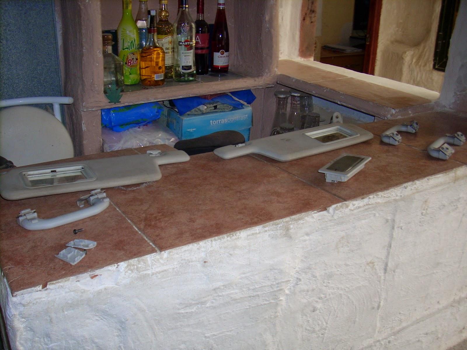 El peque o mecanico desmontaje y limpieza tapizado del - Tapizado techo coche ...