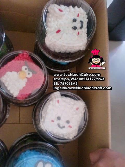 mini cake kelinci