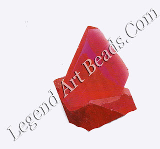 Synthetic ruby Crystal