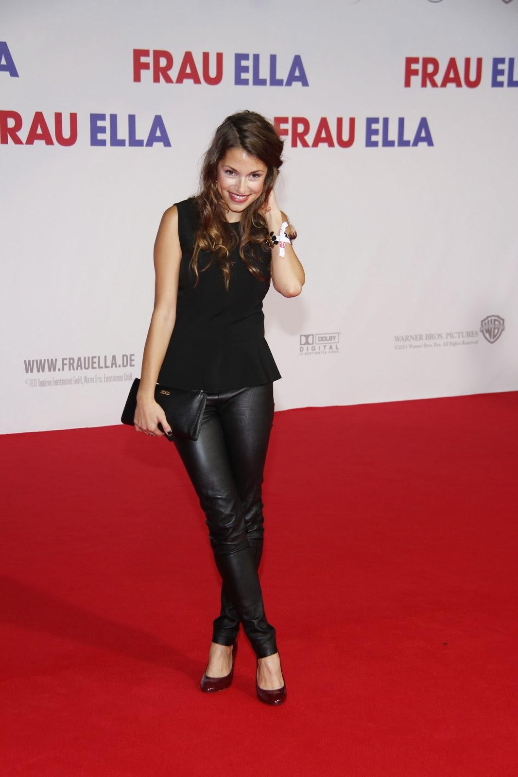 German women in leather anna julia kapfelsperger in leather pants