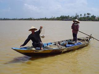 Les pêcheurs de Hoi An, Vietnam