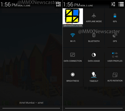 Micromax Canvas HD A116 running Android 4.2.1