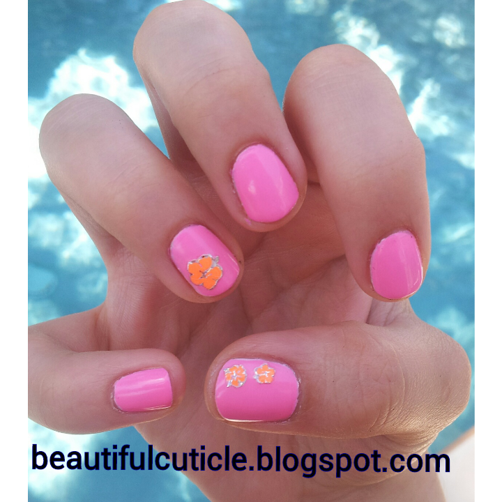 Essie Nail Appliques: Beauty, Fashion, And Nails : Neon Flower Stickers With