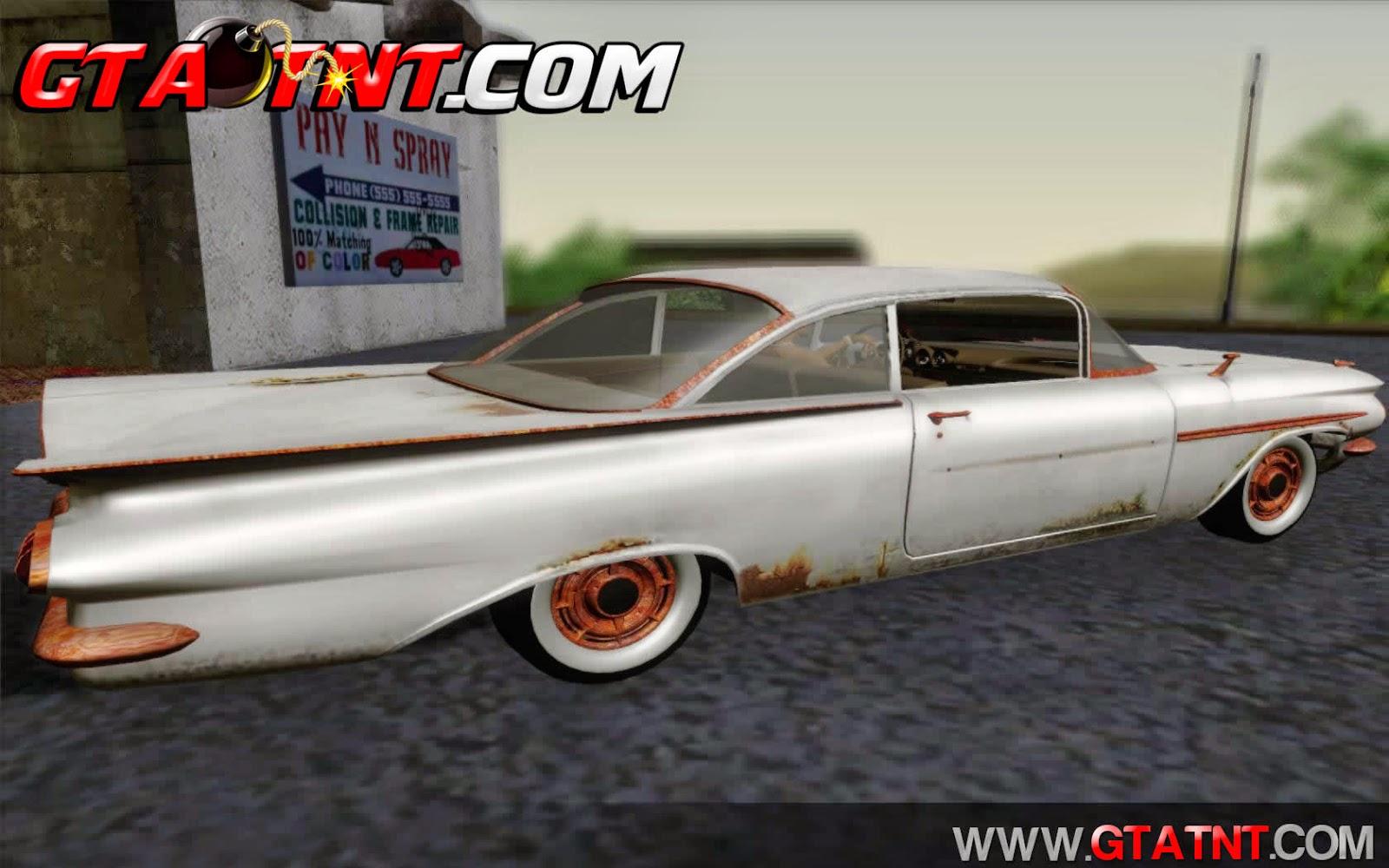 ?hevrolet Biscayne 1959 Ratlook para GTA San Andreas