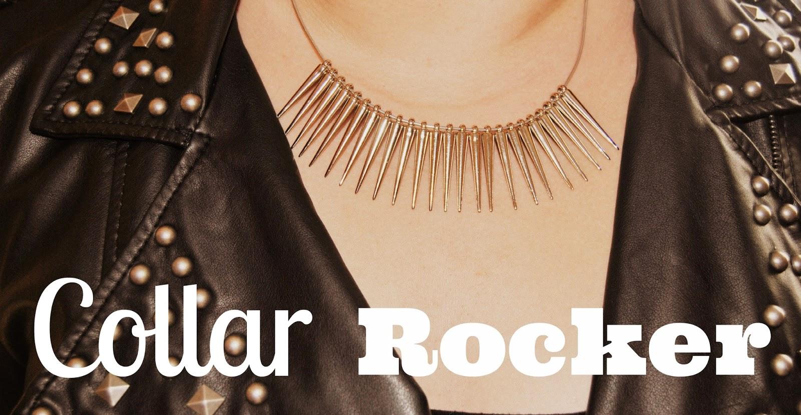 Haz tu propio collar rockero de manera fácil