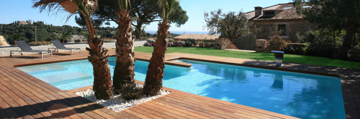 Pintura y madera piscinas para so ar - Suelo exterior piscina ...