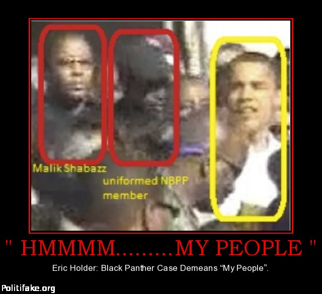 holder  Black Panther Party
