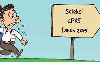 Seleksi CPNS tahun 2015
