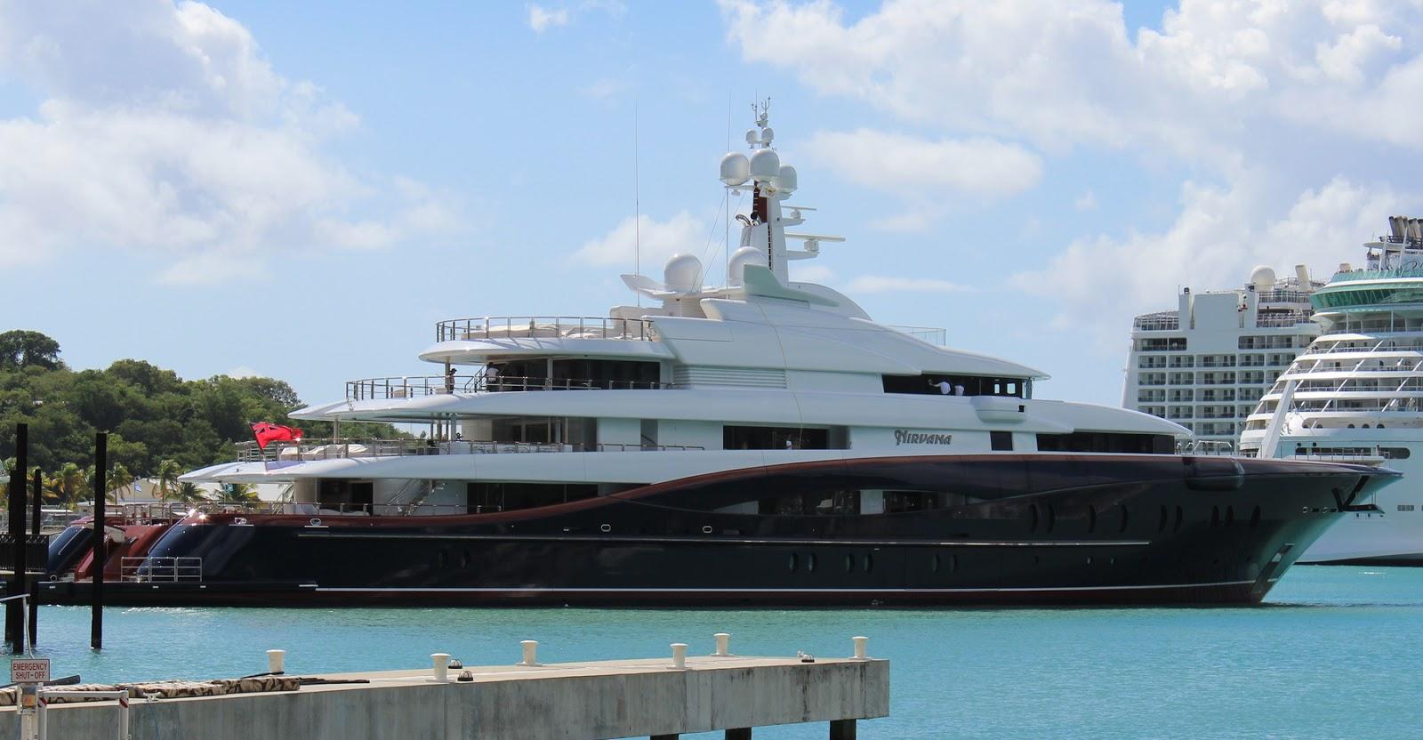 Superyacht NIRVANA Starboard