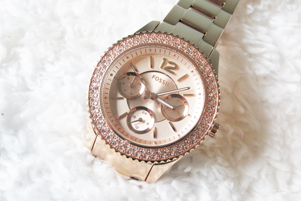 Fossil Stella Rose Gold Watch Review Joshua James Jewellery