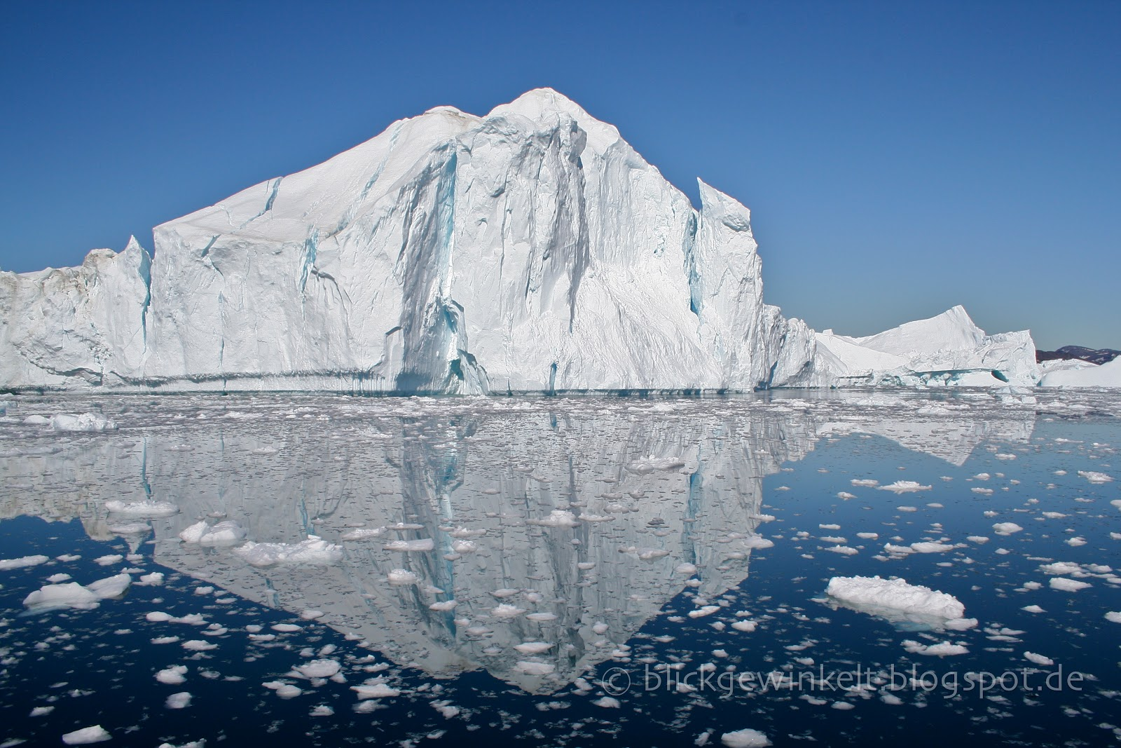 Ilullissat Icefjord, Grönland, Gletscher
