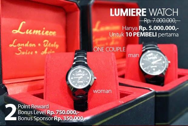 Lumiere watch MCI
