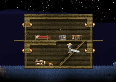 Дом в игре Starbound