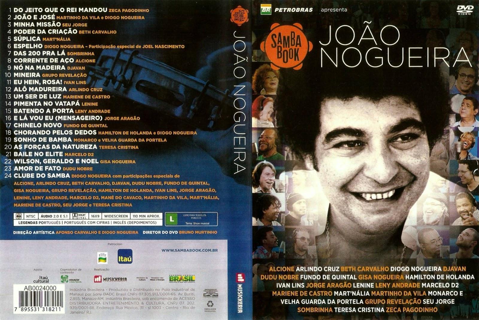 João Nogueira - Sambabook AVI (2013)