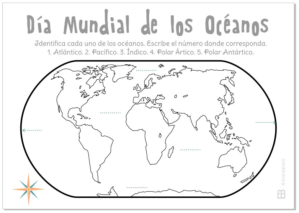 Famoso Páginas Para Colorear Del Océano Regalo - Dibujos Para ...