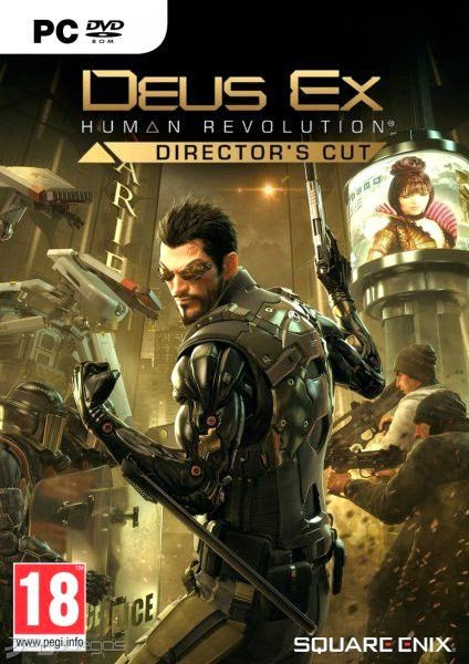 DEUS EX HUMAN REVOLUTION DIRECTORS CUT WITH CRACK