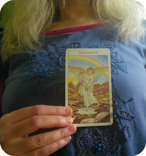 card on my heart temperance tarot