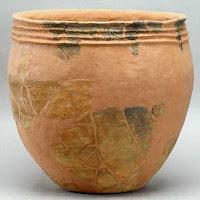 Cultura jomon (Japón) - Vasija período jomon incipiente - HistoriaDeLasCivilizaciones.com