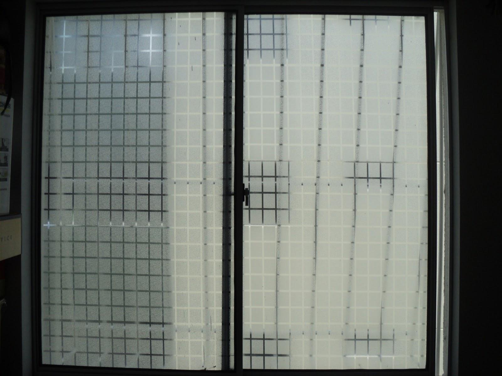 #5B6970 Adesivo jateado quadriculado em Recife Camaragibe Olinda Paulista  270 Janelas De Vidro Recife Pe