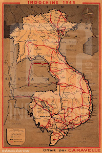 Carte indochine