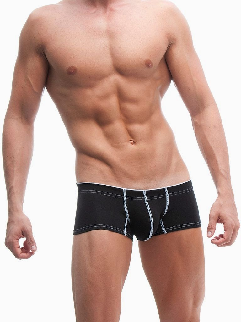 ManView 69 Micro Shorty Boxer Underwear Black Gayrado