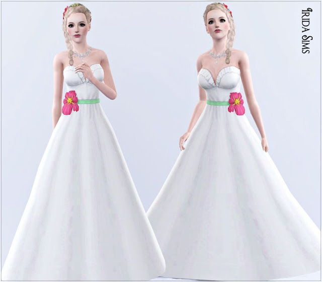 My sims 3 blog wedding dress 10 by irida sims