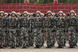 Indo-China Joint Military Exercise HAND-IN-HAND 2015