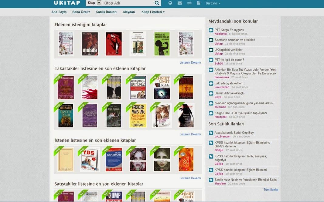 UKitap.com: Kitap Takası Yapmak İsteyenlere