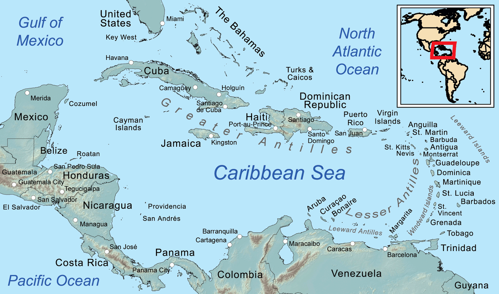 the caribbean central american basin a region of prime interest to a burgeoning u s imperialism at the end of the 19th century due to its industrial