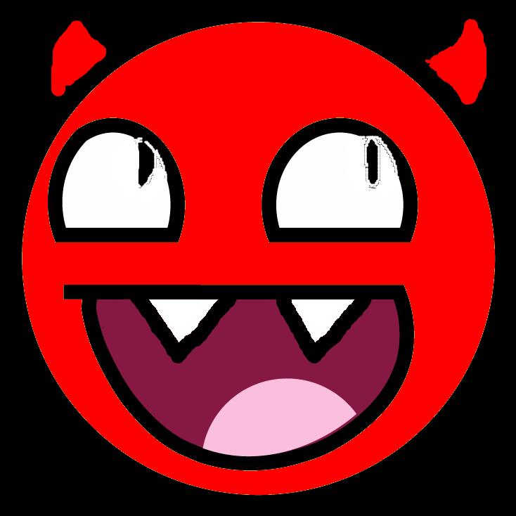 smiley devil