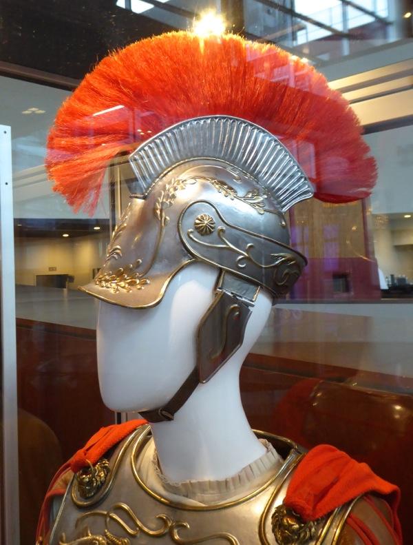 Hail Caesar George Clooney Roman Centurion helmet
