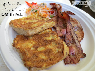 DARE Cafe - The Rocks - Gluten Free French Toast and Bacon