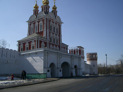 The Novodevichy convent - closed!