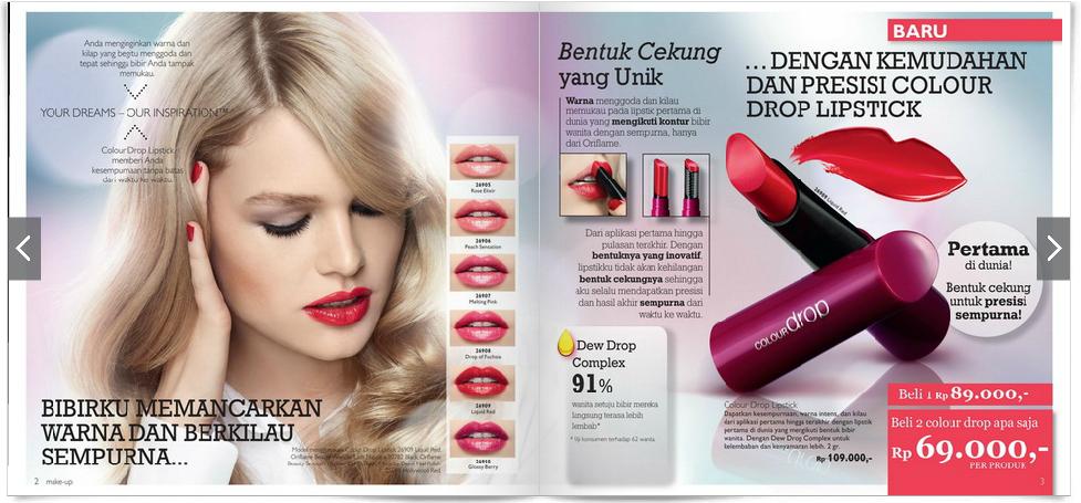 diskon lipstik oriflame