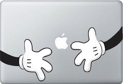 Mickey Mouse MacBook Front Sticker