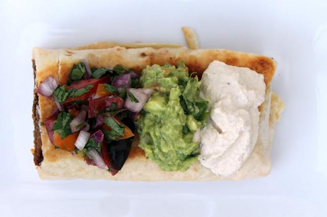 Vegan4One's California Burrito