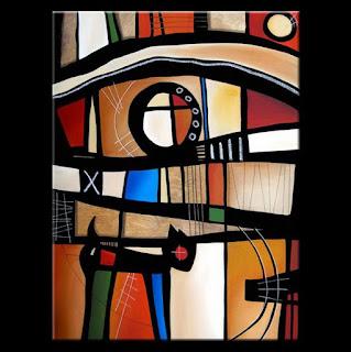 Bodegon Moderno Pintura Conteporanea