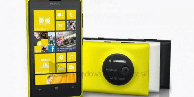 Spesifikasi dan Harga Nokia Lumia  1020